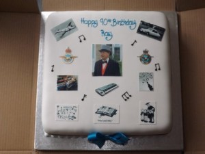Rays Birthday cake
