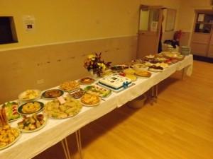Harvest supper 2013